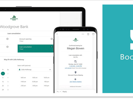 NEWSLETTER   Bookings comes to Microsoft 365