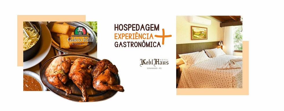 Banner Hospedagem + Galeto - Hotel Kehl