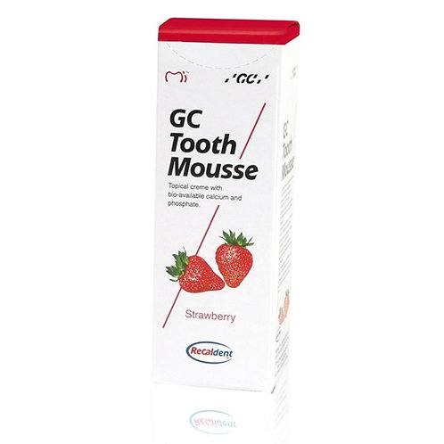 """GC Tooth Mousse"" remineralizuojantis dantų kremas be fluoro, 35 ml"