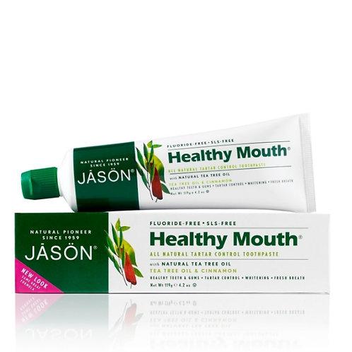"""Jason Healthy Mouth™"" natūrali dantų pasta, 119 g"