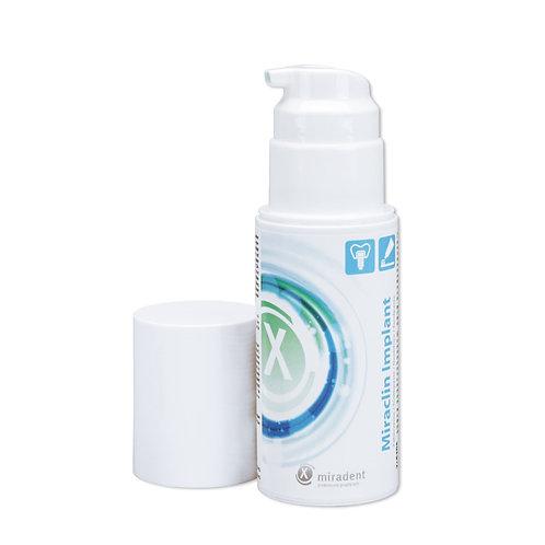 """""""Miradent Miraclin Implant"""" dantų pasta turintiems implantų, protezų, 100 ml"""