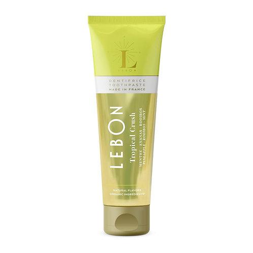 """""""Lebon Tropical Crush"""" dantų pasta su ananasu, rooibos ir mėta, 75 ml"""
