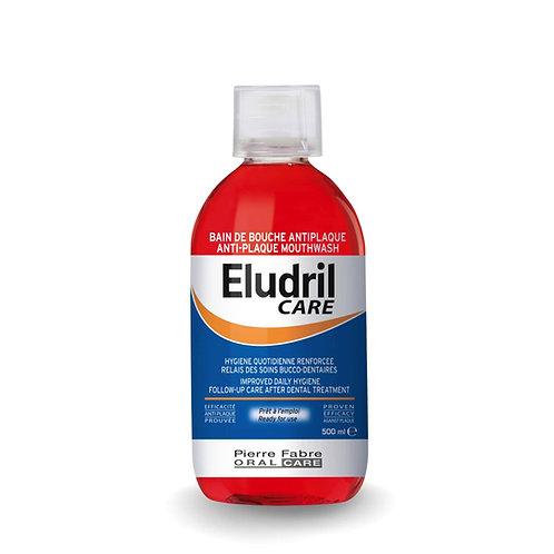 """""""Eludril Care"""" gydomasis burnos skalavimo skystis, nuo 6 m., 200 ml"""