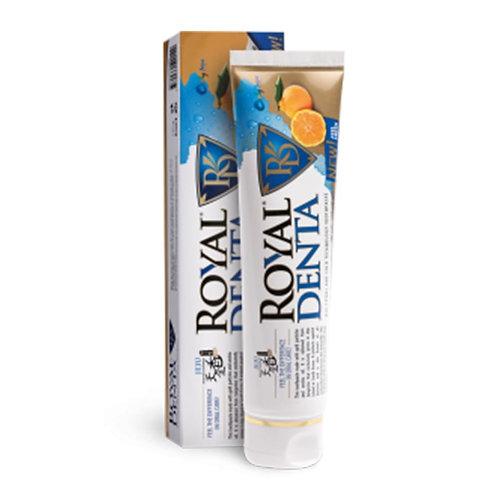"""Royal Denta"" dantų pasta su auksu ir unšiu, 130 g"