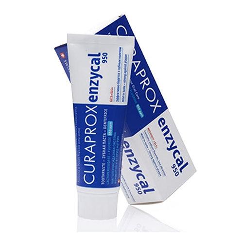 """""""Curaprox Enzycal 950"""" dantų pasta su fluoru ir peroksidazės sistema, 75 ml"""