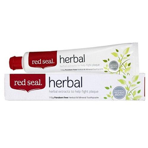 """""""Red Seal Herbal"""" dantų pasta turintiems kraujuojančias dantenas, 100 g"""