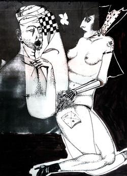 사랑-2001 종이에 꼴라쥬,펜 27 x20cm.jpg