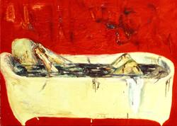 욕조의 시간 -1996 캔버스에 유채116 x90cm.jpg
