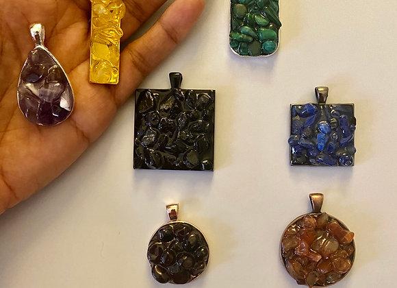Healing Crystalline Pendants