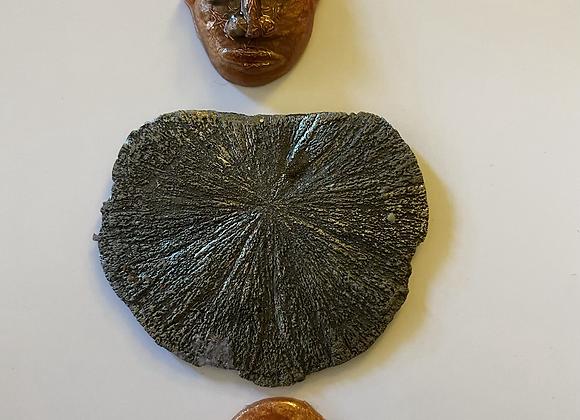 Orgonite Amulet: Bronze Shield