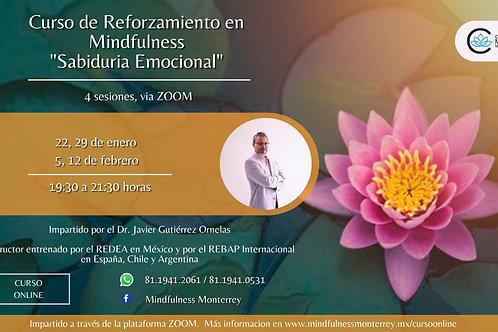 Sabiduría Emocional - Curso de reforzamiento en Mindfulness