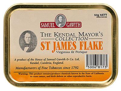 Samuel Gawith St. James Flake 50g