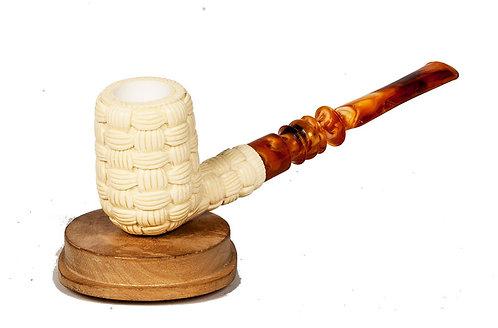 MeerQueen Basket Weave Straight Billiard Doble Boquilla