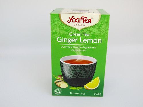 Green tea Ginger Lemon
