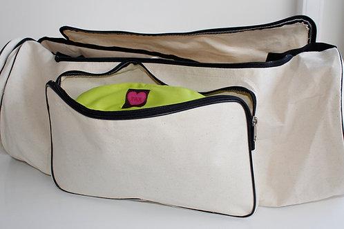 75 cm Yogabag i kraftig bomull canvas