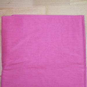 Turban stoff 3 meter i fargen mørk rosa.