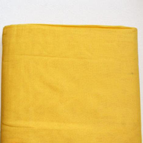 Turban i fargen safran gul.
