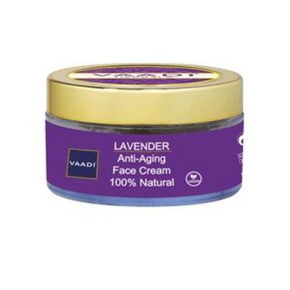 Lavendel, 100% naturlig ansiktskrem