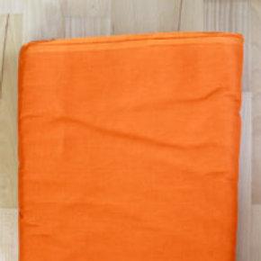 Turban stoff 3 meter i fargen oransje.