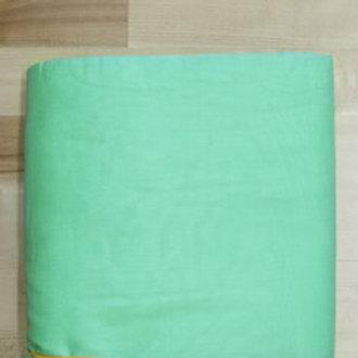 Turban stoff 3 meter i fargen lindegrønn.