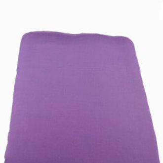 Turban stoff 3 meter i fargen lilla.
