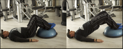 WEIGHTED HIP RAISES