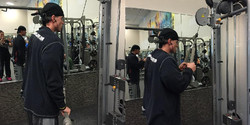 CABLE TRICEPS PRESSDOWNS
