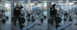 SMITH MACHINE SIDE BENDS