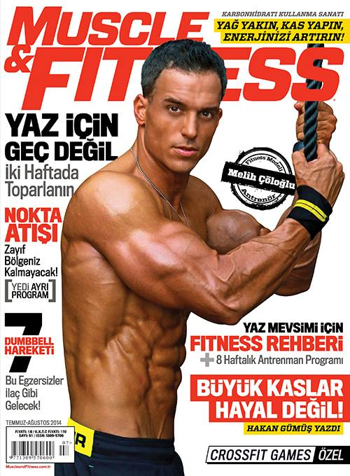 MELIH F COLOGLU LANDS HIS 4TH COVER!