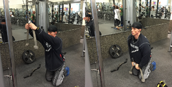 ROPE STRAIGHT ARM PULLDOWNS