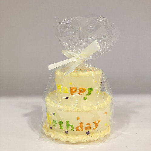 Kerze, Happy Birthday