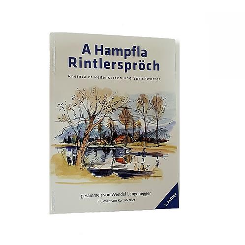 "Buch: ""A Hampfla Rintlerspröch"""