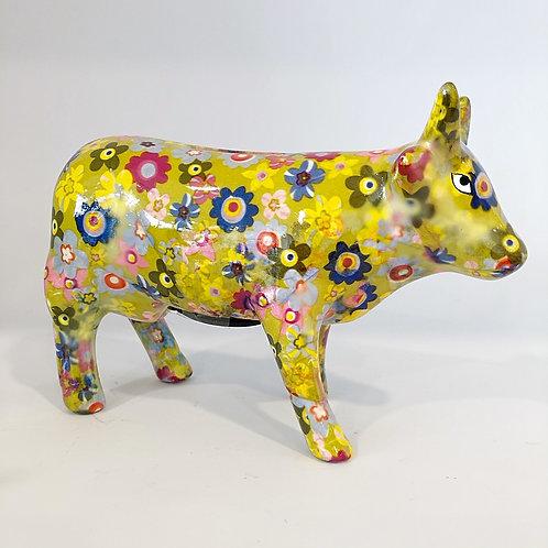 Sparschwein Kuh Gelb