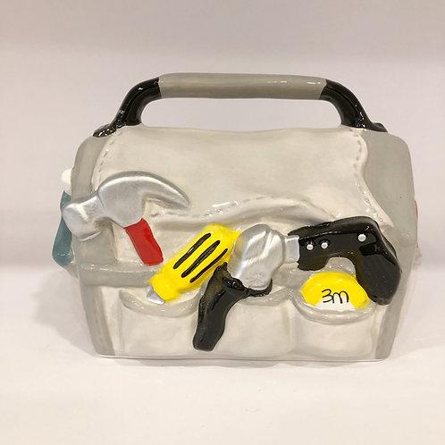 Sparschwein, Werkzeugtasche