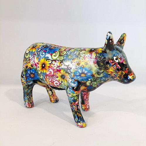 Sparschwein Kuh Schwarz