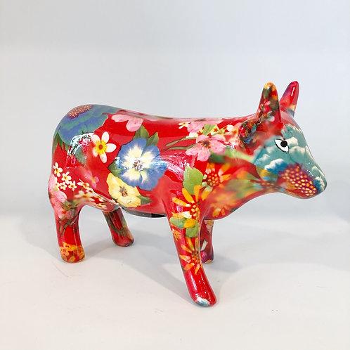 Sparschwein Kuh Rot