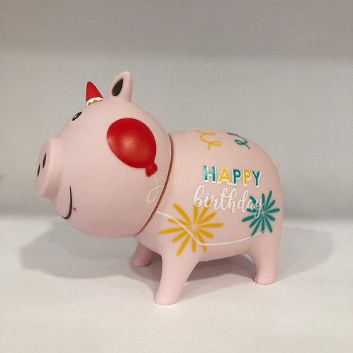 Sparschwein, Happy Birthday