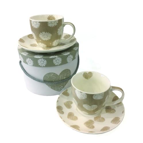 tassen 2er set cappuccino. Black Bedroom Furniture Sets. Home Design Ideas