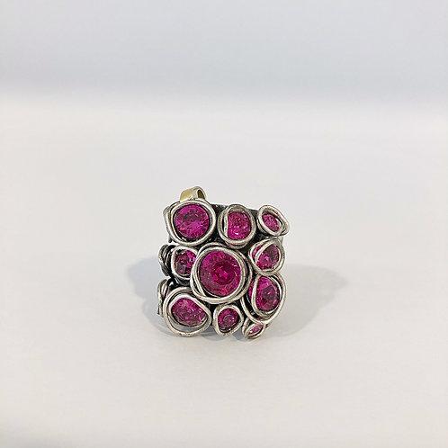 Fingerring P0383 Pink