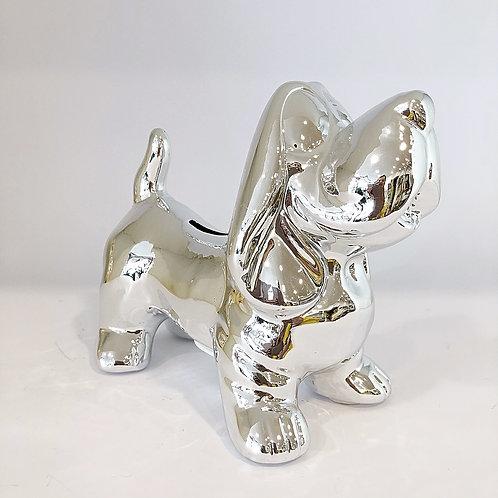 Sparschwein Dog Silver