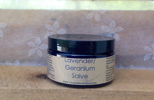 Calendula Skin Salve with Lavender and Geranium