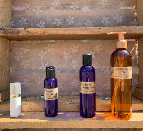 All Natural and Nourishing Hand Gel with Thieves