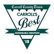 Carroll Country times honorable mention