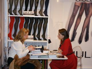Giulia Hoisery at Curve New York!
