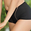 Thumbnail: Leilieve Black Mesh Culotte Highwaisted Panty 7202x