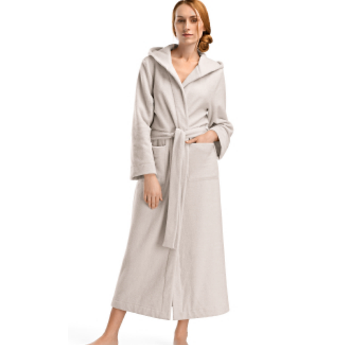 Hanro Plus Long Hooded Robe 77304