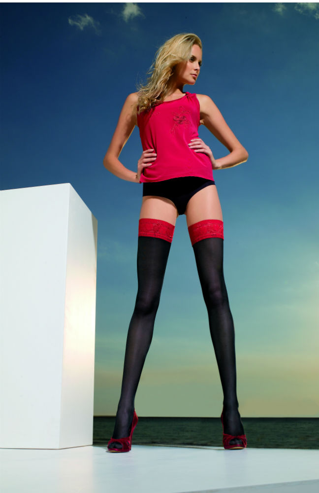 Trasparenze Rosy Thigh Highs