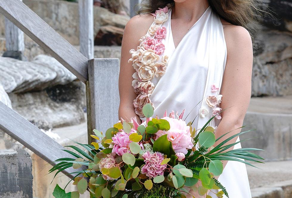 "Silk dress ""Elena"""