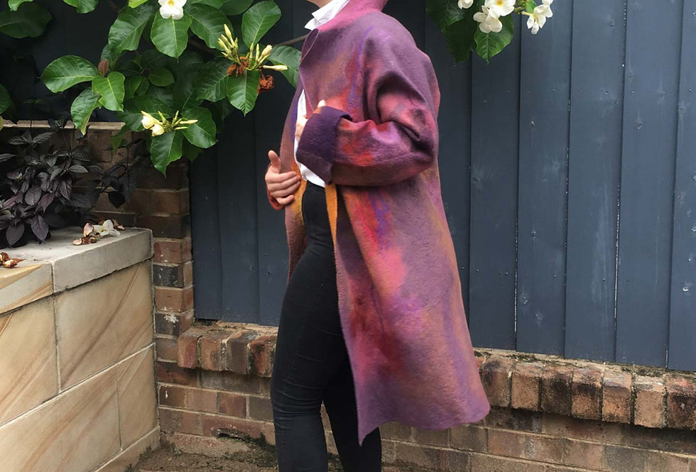 Reversible Merino Wool Coat