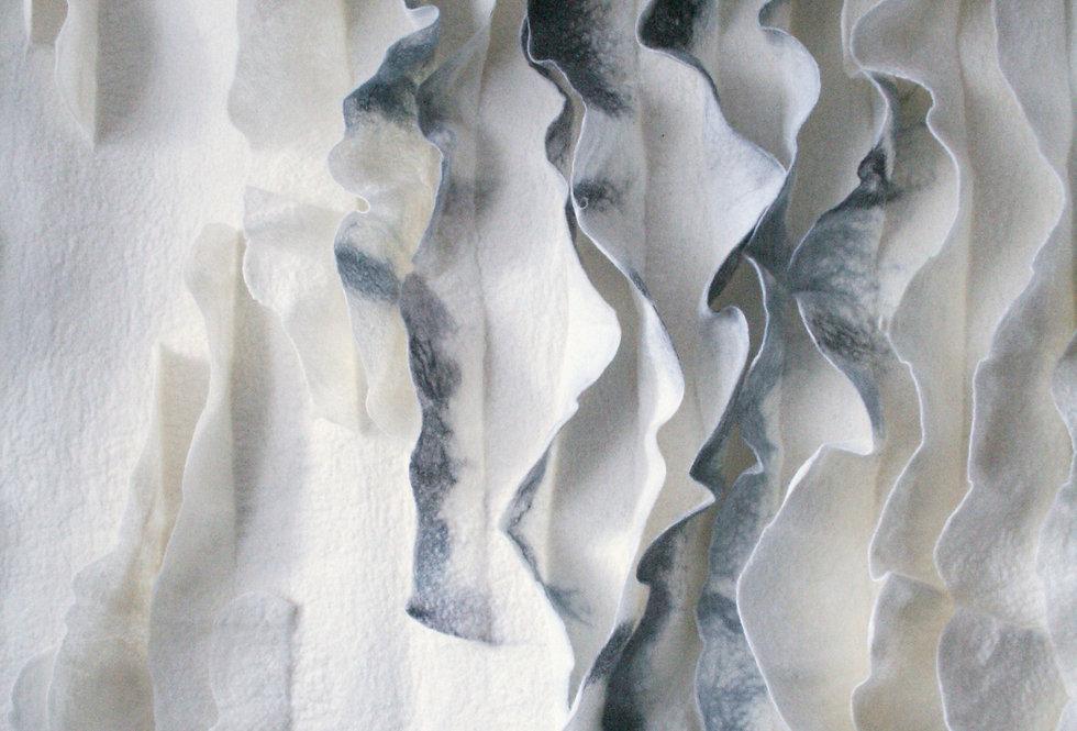 Wool and Silk Handmade Wall Hanging